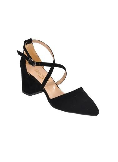 Maje 1901 Platin Kadın Topuklu Ayakkabı Siyah